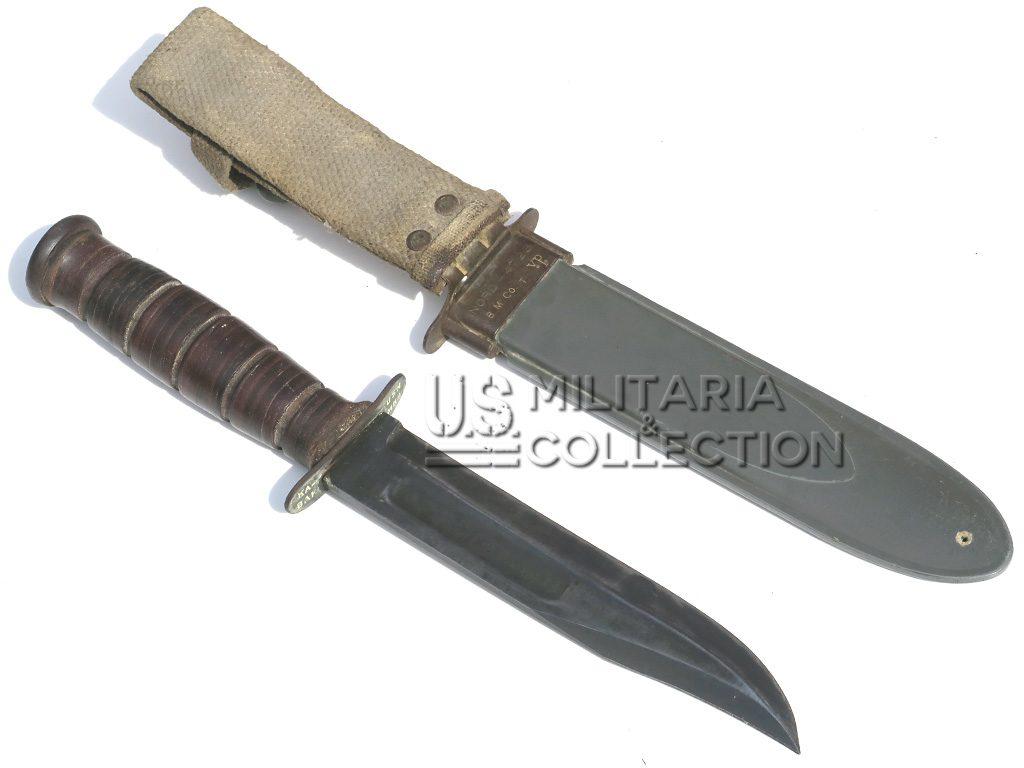 Couteau USN MK2 KA-BAR & fourreau 1er mod
