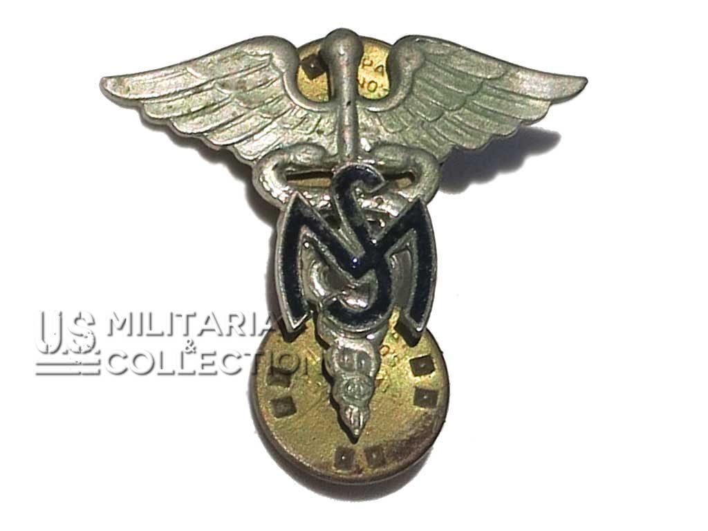 Insigne de col officier Medical Service Meyer
