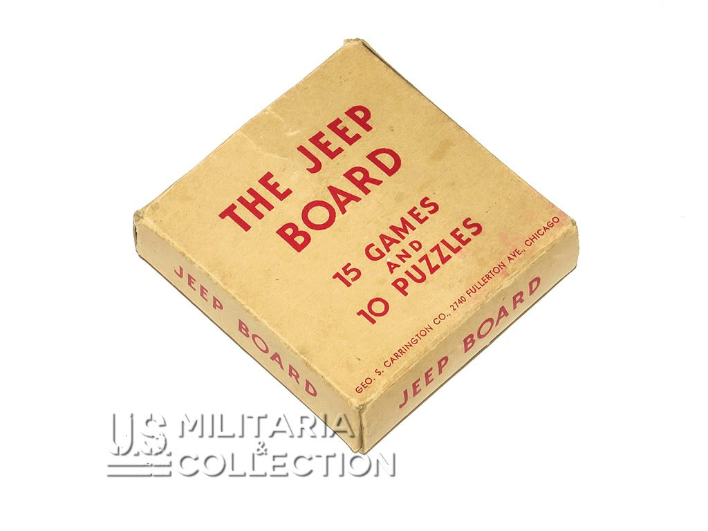 Jeu US The Jeep Board Games