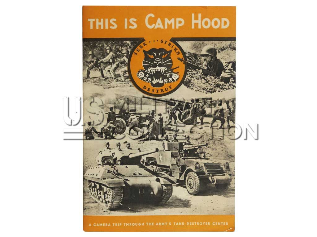 Livret Camp Hood Tank Destroyer School