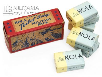 Savons US Nola Military Pack, boite compléte.