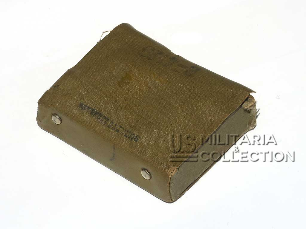 Trousse de couture US Army, Laundry number