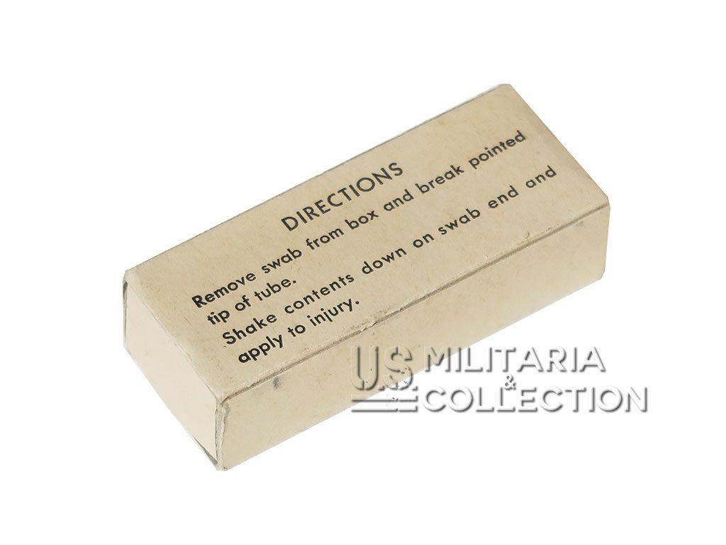 Boite teinture d'iode 1942