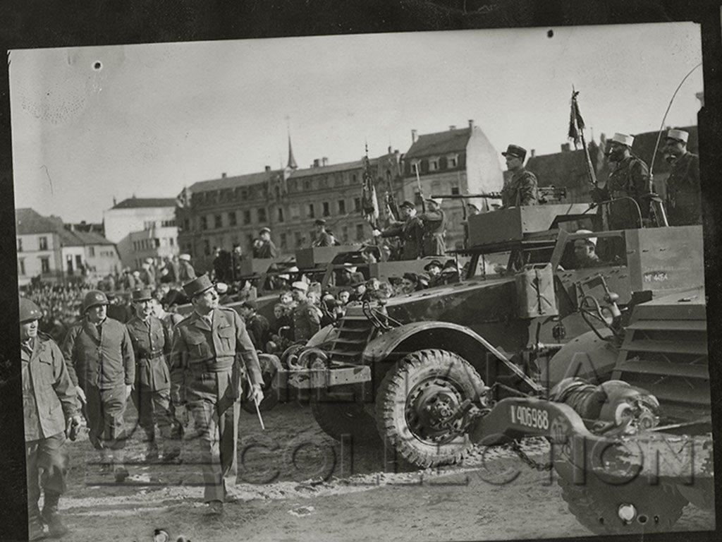 Colmar 1re Armée Gal de Lattre de Tassigny