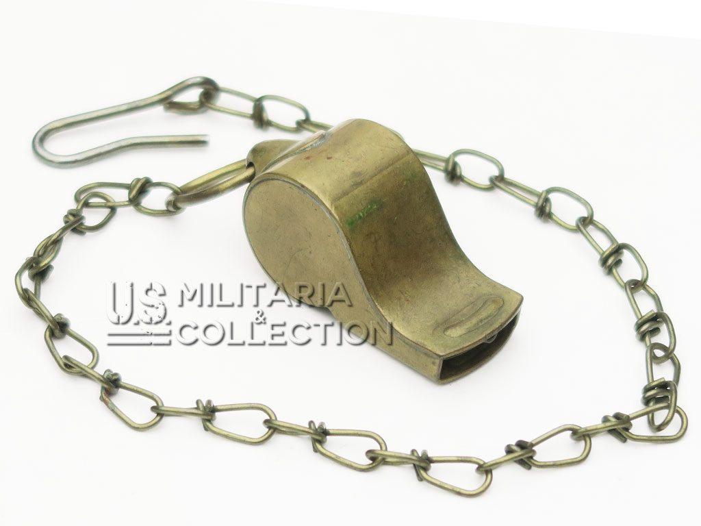 Sifflet US ARMY laiton