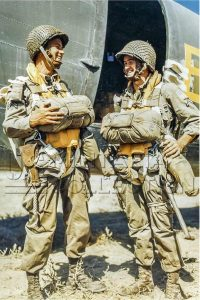 Parachutistes 82nd Airborne septembre 1943 Salerne italie