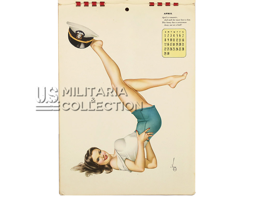 Calendrier de G.I. Pin-up