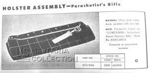 Griswold Bag housse de Saut Parachutiste premier modèle