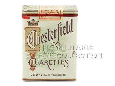 Paquet de cigarettes Chesterfield U.S. Army