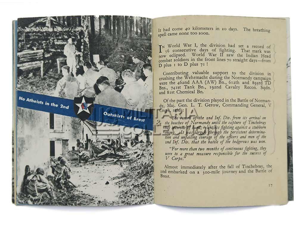 2ᵉ division d'infanterie américaine livret