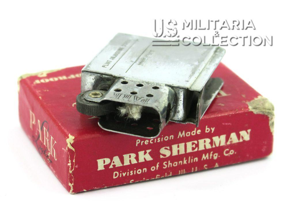 Briquet US Park Sherman et sa boite
