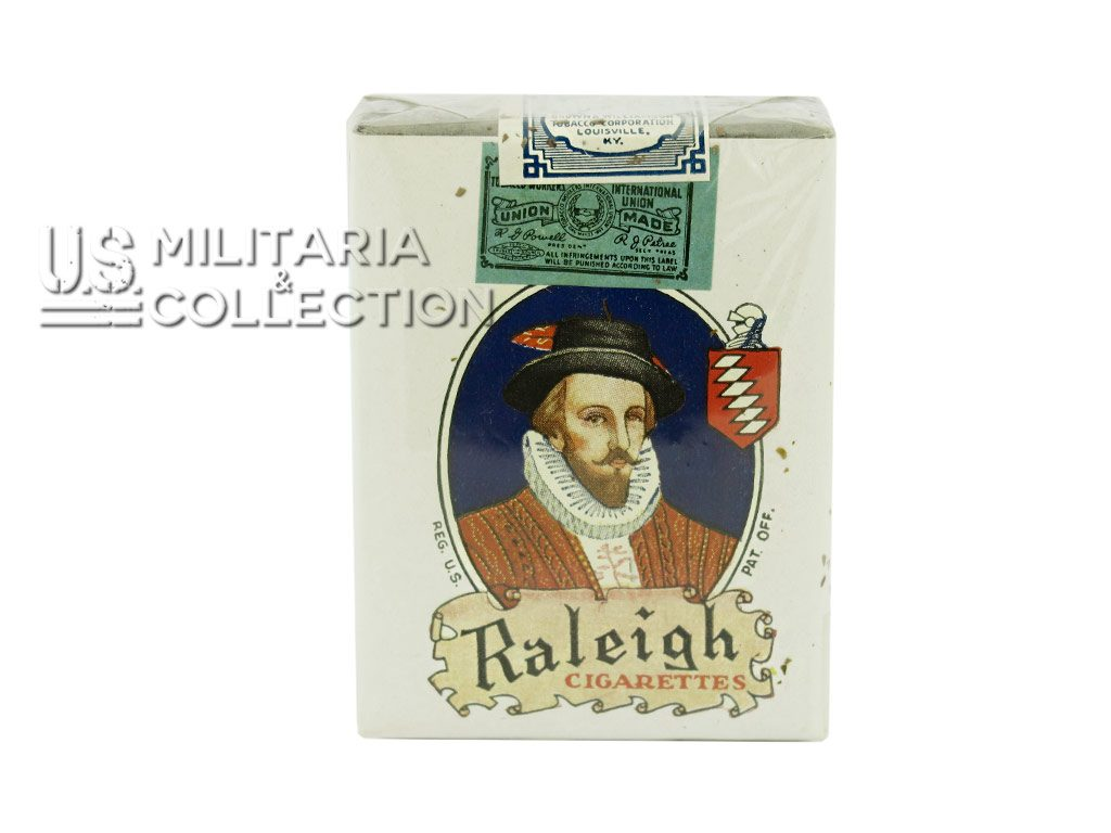 Paquet de cigarettes Raleigh U.S.