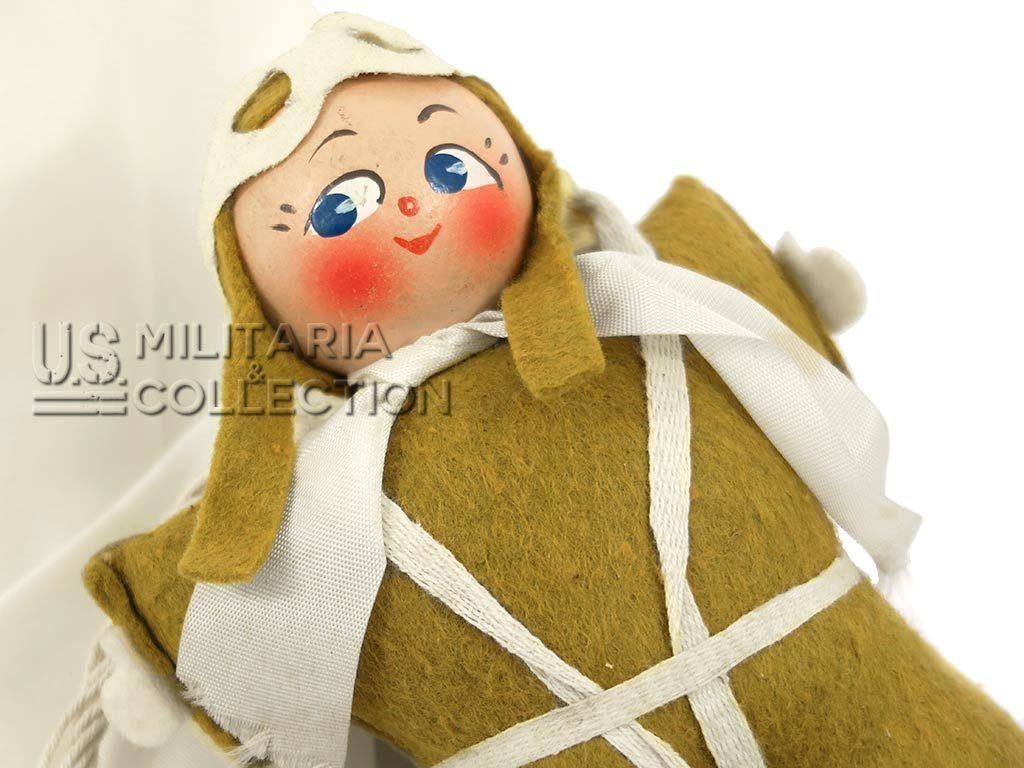 Paratrooper Doll Poupée parachutiste Pat-parachute
