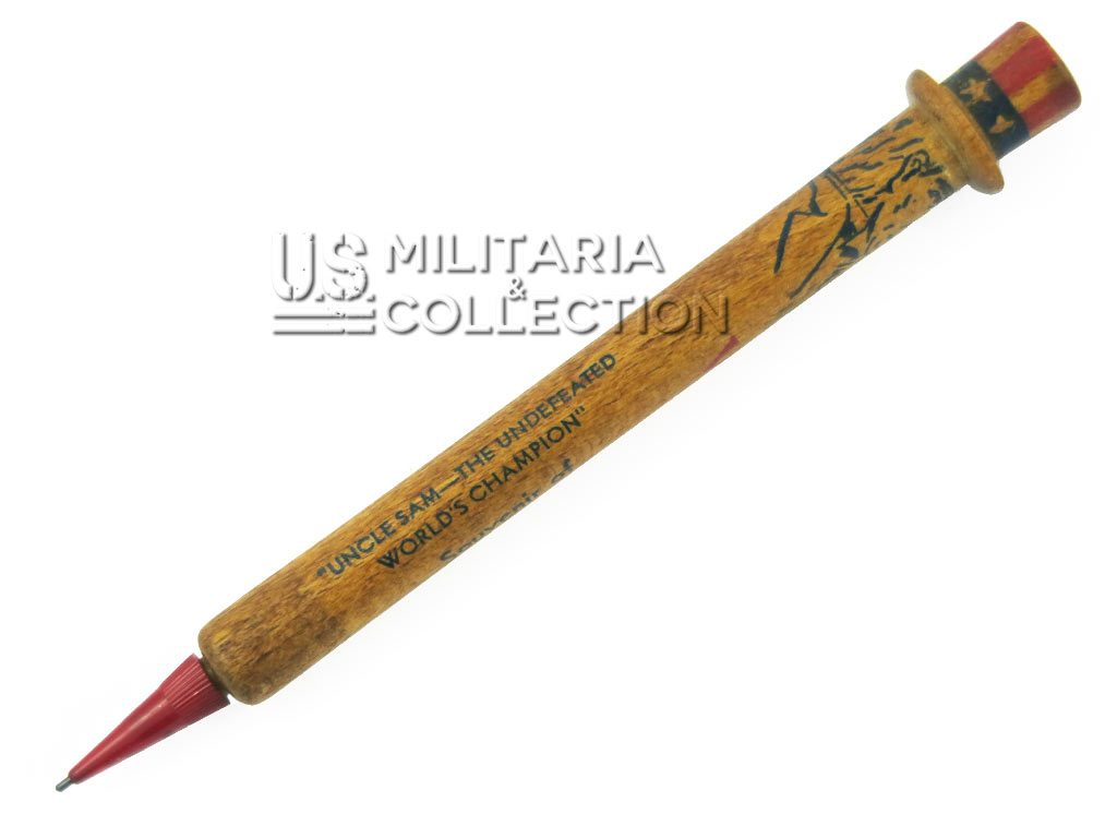 Victory pencil Uncle Sam crayon patriotique US