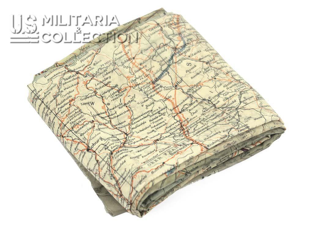 Carte en soie C/D 1943 évasion