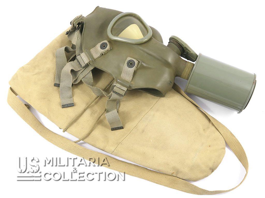 Masque anti-gaz M1A1 troupes aéroportées