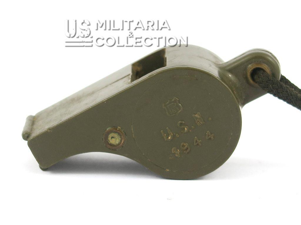Sifflet plastique US NAVY 1944