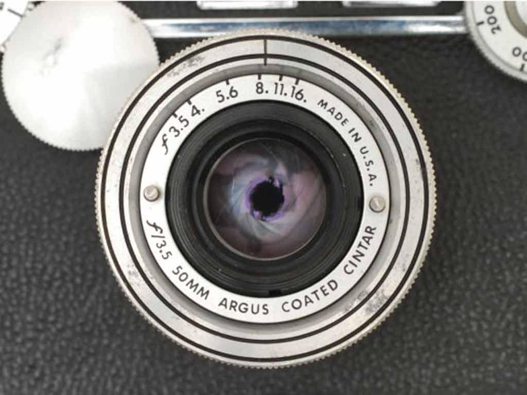 appareil photo US Argus C-3
