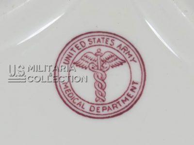 Assiette US Medical Department 1941