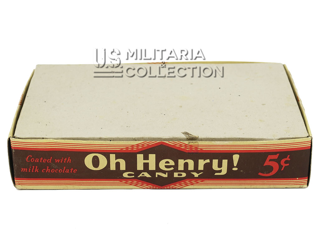 "Boite de chocolat ""Oh Henry!"""