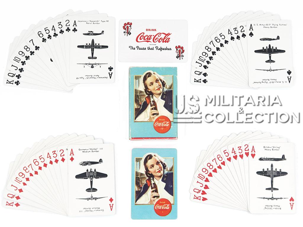 Cartes Coca-Cola Spotter, 1943