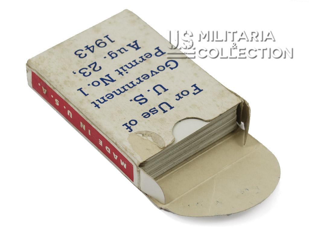 Jeu de cartes Spotter 1943