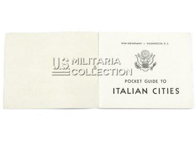 Livret guide to Italian cities, 1944