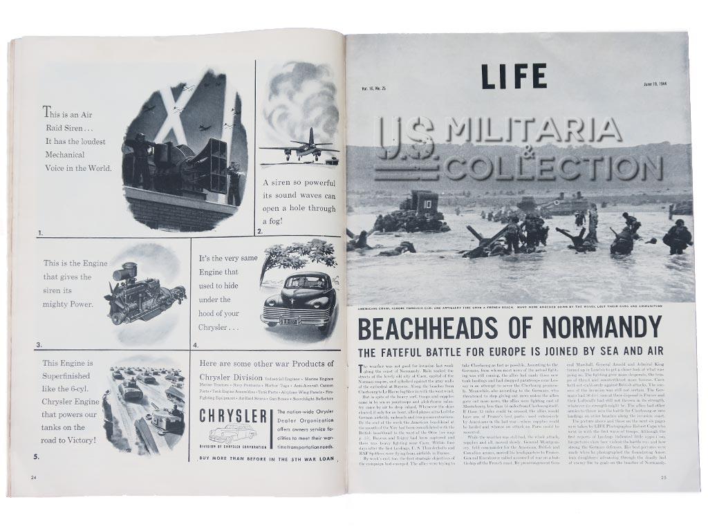 Magazine Life débarquement
