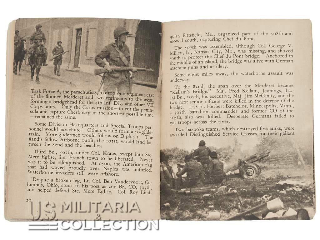 """82e division aéroportée livret """"All American"""""""