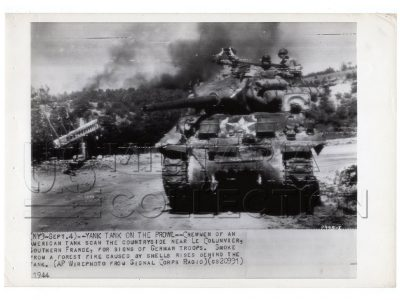 Char US Sherman, Sud de la France 1944
