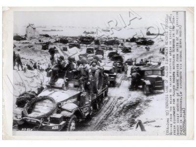 Débarquement de troupes en Normandie