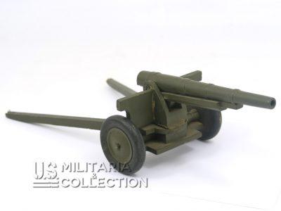 Jouet US canon Seconde Guerre en bois