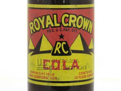 Royal Crown Cola bouteille US