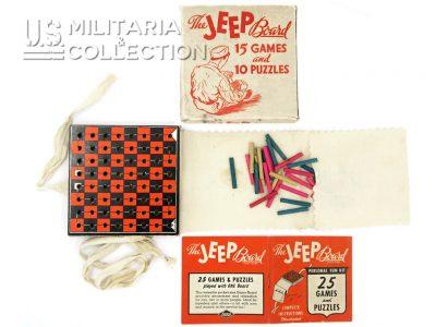 Boite de jeux US ARMY The Jeep Board Games