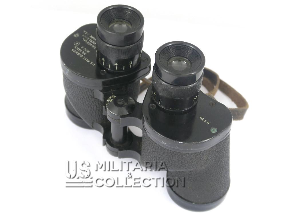 Jumelles US NAVY MK 18 1943 et étui 6x30