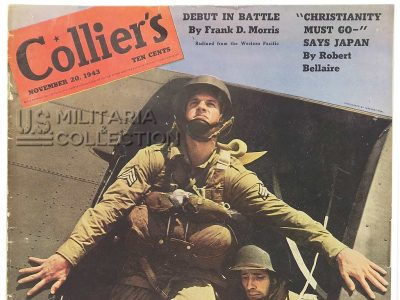 Magazine Collier's Parachutistes, 1943