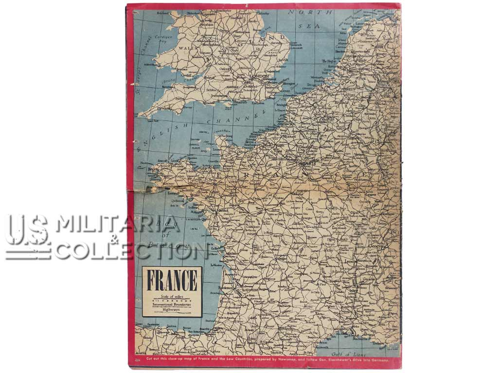 Magazine Yank, 2 juillet 1944, Airborne Operations in France
