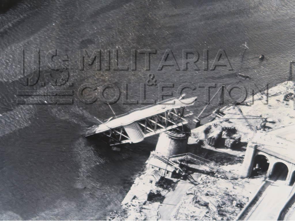 Photo aérienne USAAF Brest, septembre 1944
