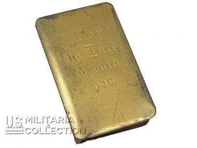 Bible US couverture métal