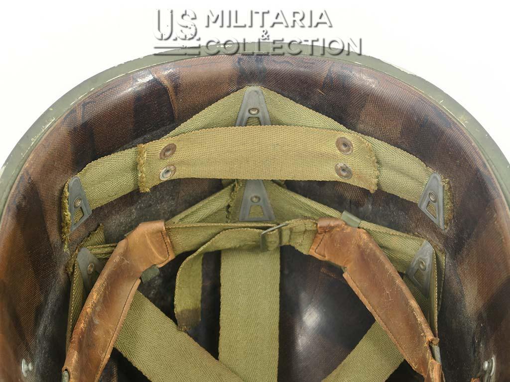 Casque US M1 Schlueter pattes fixes et son liner