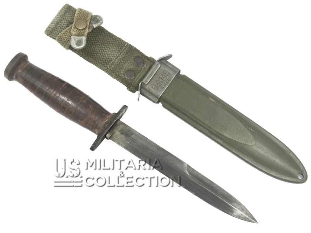 Couteau USM3 CASE + Fourreau USM8