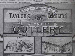 Dague commando Taylor Eye Witness Sheffield