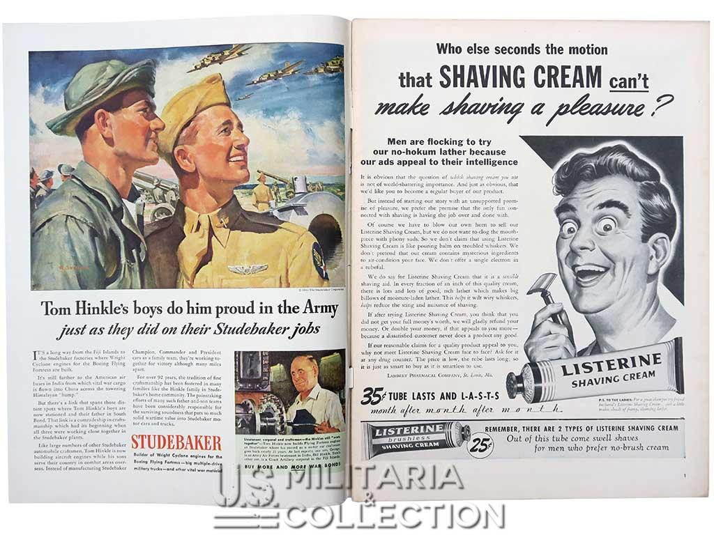 Magazine Life débarquement Robert Capa