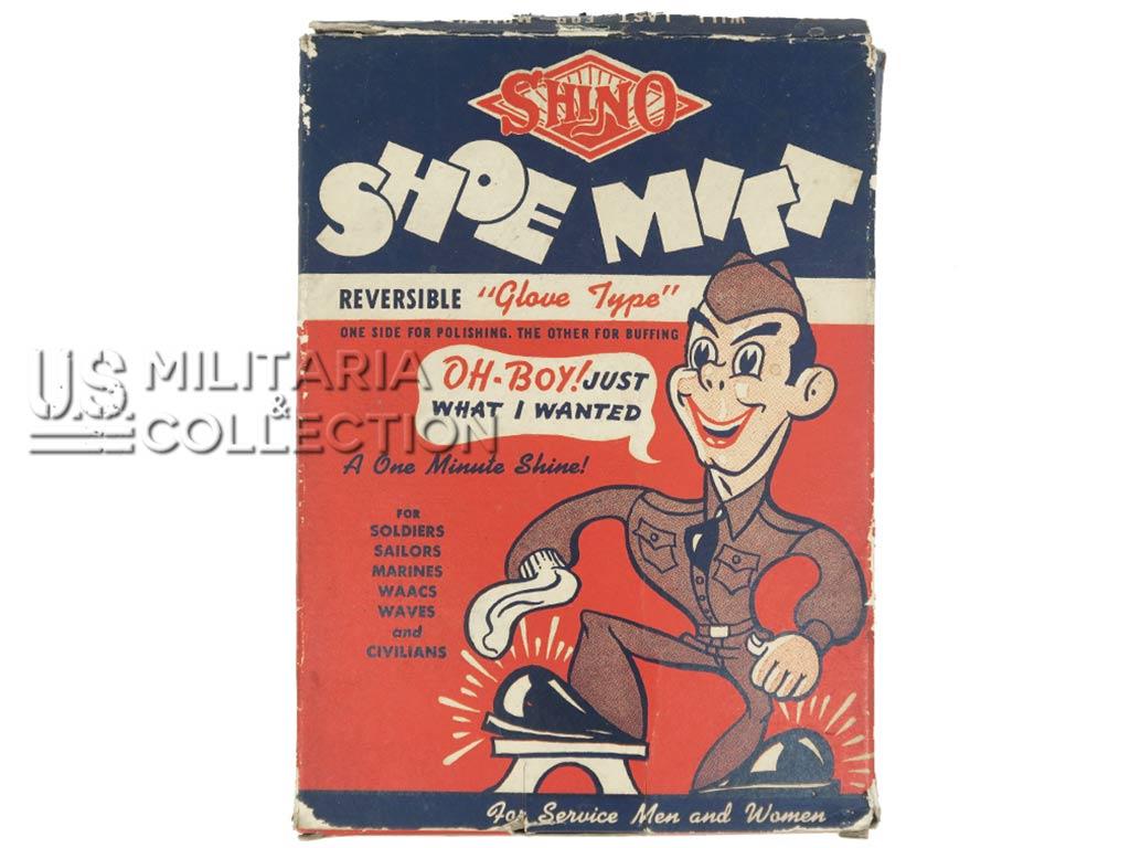 Nécessaire US Shoe Mitt, lustrage chaussures