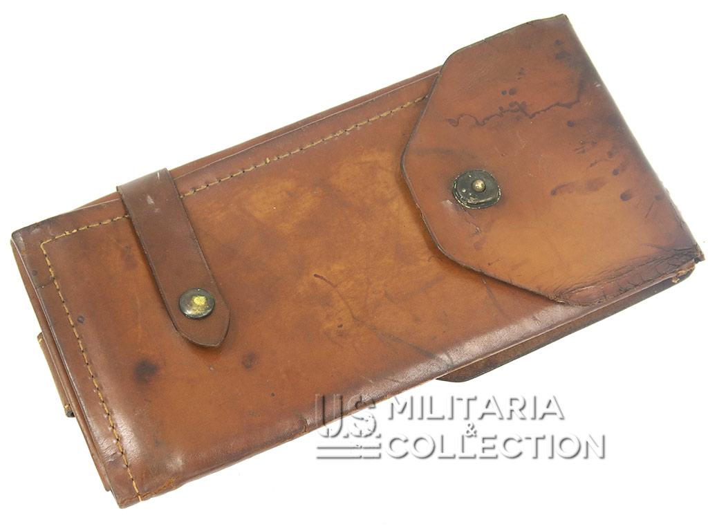 Porte-cartes officier US en cuir