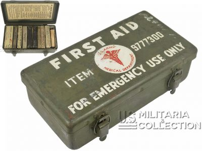 Boite First-Aid jeep, 12 Unit, 1944