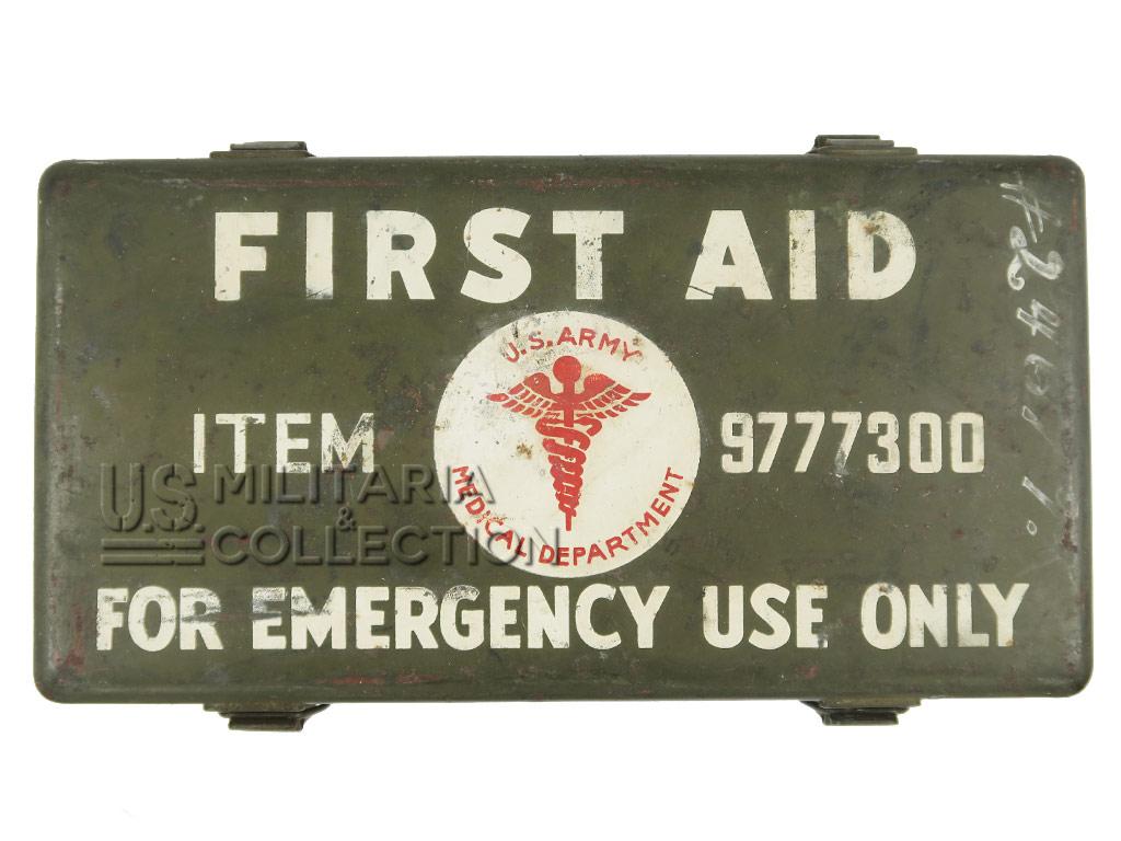 Boite First-Aid jeep, 12 Unit, 1944