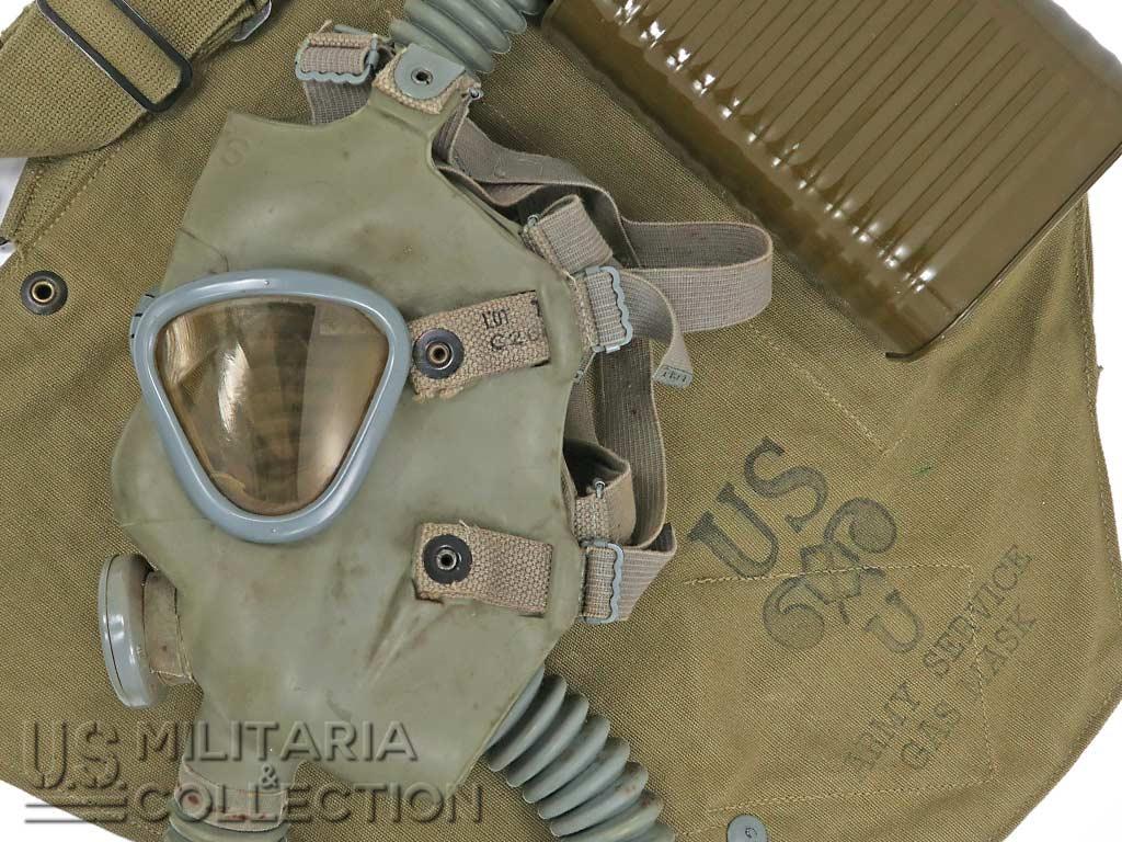 Masque anti-gaz US M2