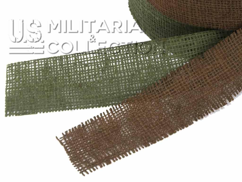 Bandes de camouflage en toile de jute