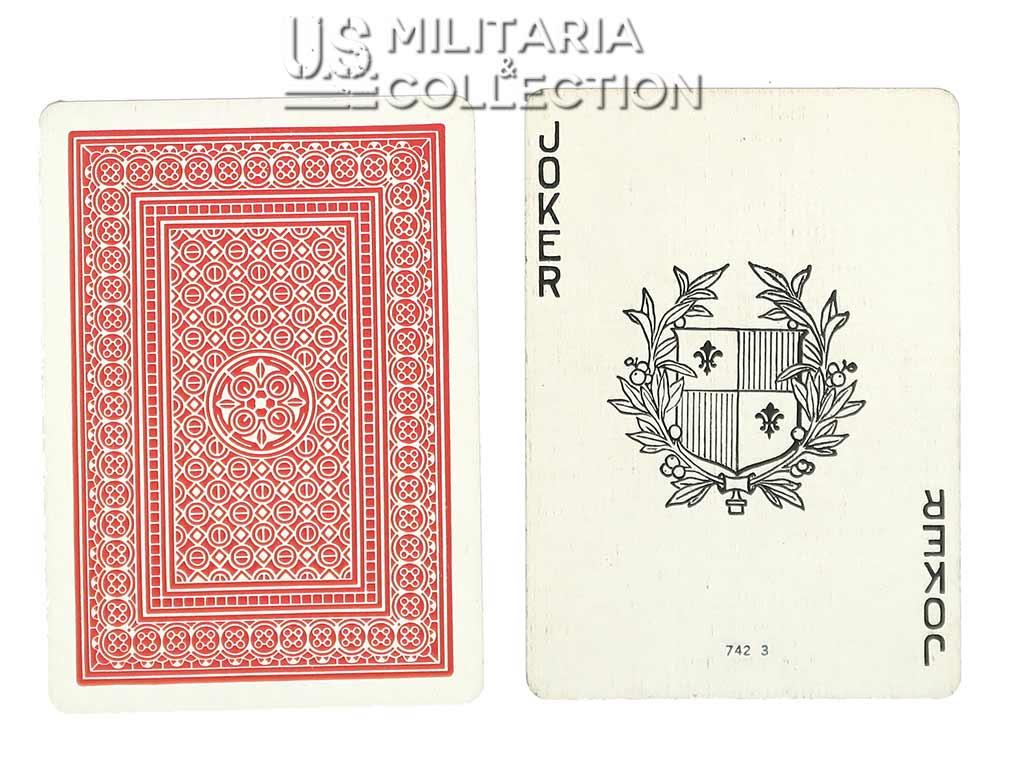 Jeu de cartes US 1944, American Red Cross